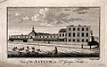 The Hospital of Bethlem (Bedlam), St. George's Fields, Lambe Wellcome V0013731.jpg