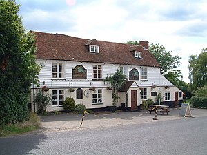 Boughton Malherbe - Image: The Kings Head Pub, Grafty Green geograph.org.uk 220938