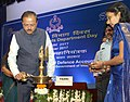 The Minister of State for Defence, Dr. Subhash Ramrao Bhamre lighting the lamp on the occasion of 271st Annual Day celebrations of Defence Accounts Department (DAD), in New Delhi.jpg