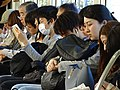 The Morning Commute - Train from Koyasan - Japan (47971133701).jpg