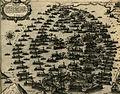 The Ottoman and the Venetian fleet during the Battle of Lepanto in 1571 - Camocio Giovanni Francesco - 1574.jpg