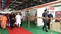 The Prime Minister, Shri Narendra Modi visiting the Pashudhan Arogya Mela, at Shahanshahpur, Varanasi, Uttar Pradesh on September 23, 2017. The Chief Minister, Uttar Pradesh, Yogi Adityanath is also seen.jpg