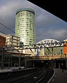 The Rotunda, near Birmingham rail station, England.jpg