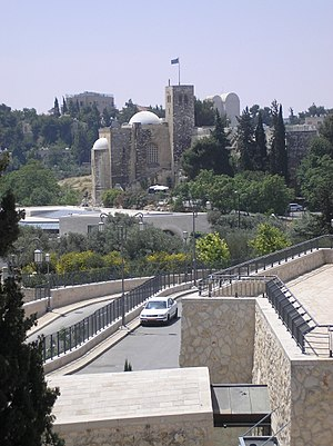St Andrew's Church, Jerusalem - Image: The Scotish Church