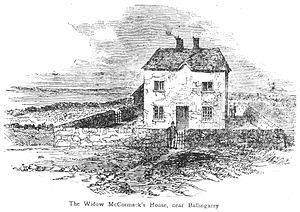 Ballingarry, South Tipperary - The Widow McCormack's House