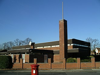 Whitley, Coventry - Image: The church of Jesus Christ of latter day Saints, Coventry 15n 07