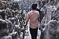 The labyrinthine paths in the Rock Garden are in total contrast to the well laid out city outside (30405403748).jpg