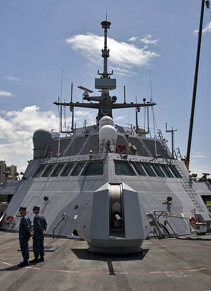 File:The littoral combat ship USS Freedom (LCS 1) is moored at Joint Base Pearl Harbor-Hickam, Hawaii, for a scheduled port visit March 11, 2013, during a deployment to the Asia-Pacific region 130311-N-WF272-224.jpg