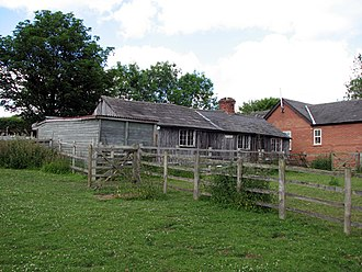 Navvy - Image: The only surviving railway navvy housing in Britain (geograph 1923056)