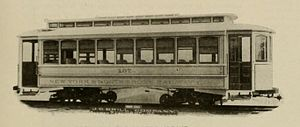 North Shore Bus Company - Image: The street railway review (1891) (14572020749)