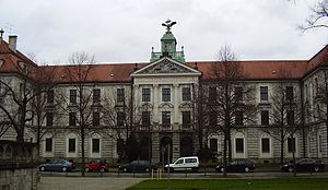 Ernst Udet - Udet attended the Theresien-Gymnasium in Munich.