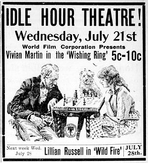The Wishing Ring: An Idyll of Old England - Newspaper advertisement.
