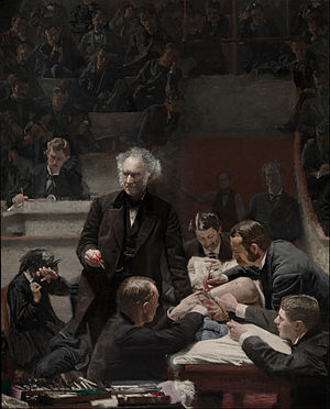 The Gross Clinic - Image: Thomas Eakins, American Portrait of Dr. Samuel D. Gross (The Gross Clinic) Google Art Project