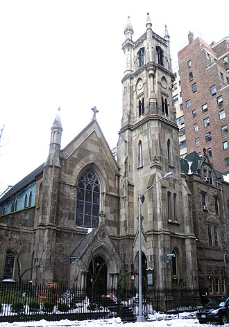 Hubert, Pirrson & Company - Episcopal Church of the Blessed Disciple, 1870
