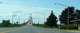 Thousand Islands Bridge - Image: Thousand Islands Bridge