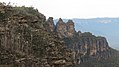 Three Sisters from Katoomba Skyway, Blue Mountains, New South Wales (483569) (9440485321).jpg