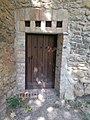 Thury Castle, S tower's door, 2017 Várpalota.jpg