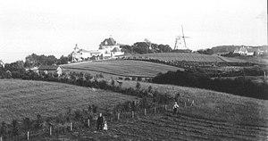 Tibberup Windmill - Tibberup Windmill in 1905