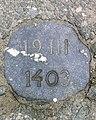 Tielt Markt Gedenksteen in het wegdek - 40852 - onroerenderfgoed.jpg