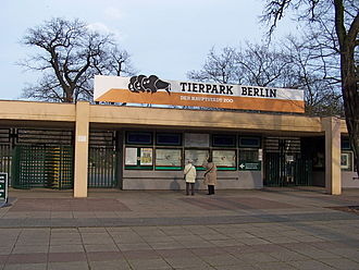 Tierpark Berlin - Main entrance