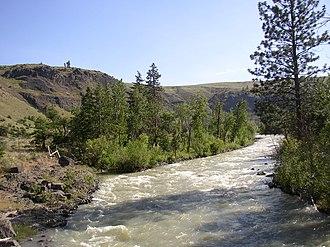 Tieton River - Image: Tieton River