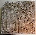 Tiglath-pileser III's army attacks a city in southern Iraq. From Nimrud, Iraq, c. 728 BCE, British Museum.jpg