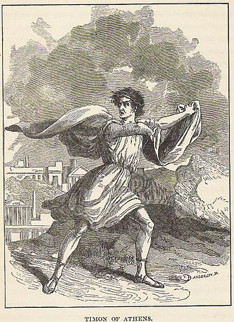 Timon of Athens - Illustration from Tales from Shakespeare, McLoughlin Bros., 1890