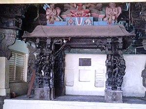 Thiruevvul - Shrines inside the temple