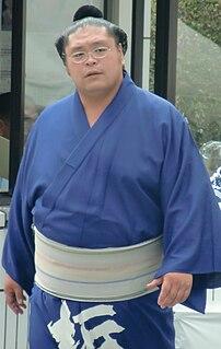 Tochinonada Taiichi Japanese sumo wrestler