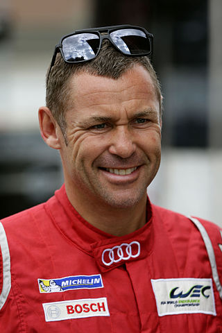 The winningest Le Mans driver of all-time, Tom Kristensen of Denmark