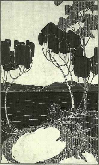 Artistic development of Tom Thomson - Advertising or calendar drawing, Fall-winter 1912. Location unknown