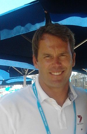 Tom Williams (presenter) - Williams at the 2013 APIA International
