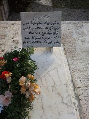 Frantz Fanon - Fanon's final resting place in Aïn Kerma, Algeria