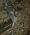 Tomsk city and vicinities, Russia, LandSat-5 near natural colors satellite image, 2011-09-27.jpg