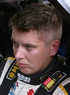 Toni Gardemeister Finnish rally driver