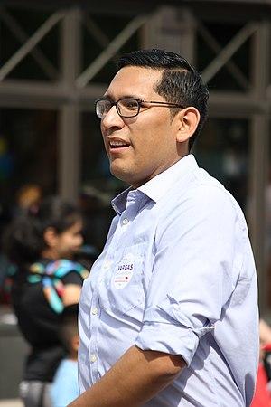 Tony Vargas - Image: Tony Vargas, Candidate for Neb. Legislature (26846957626)