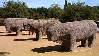 Iberian sculpture - The Bulls of Guisando
