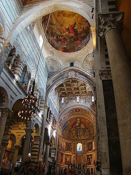 мраморная кафедра 1302–1310 гг. мастера Джованни Пизано