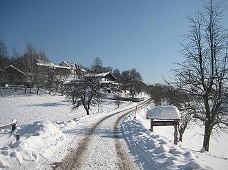 Toško Čelo - Toško Čelo viewed from the west