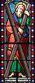 Tournon-d'Agenais - Église Saint-André-de-Carabaisse - Vitrail -1.JPG