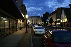 Skyline of Huntingdon, Tennessee