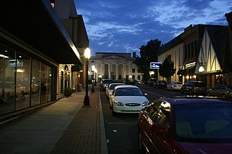 Huntingdon, Tennessee - Huntingdon Court Square as seen from Main Street