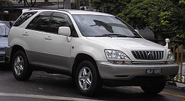 Toyota Harrier (first generation) (front), Kuala Lumpur.jpg