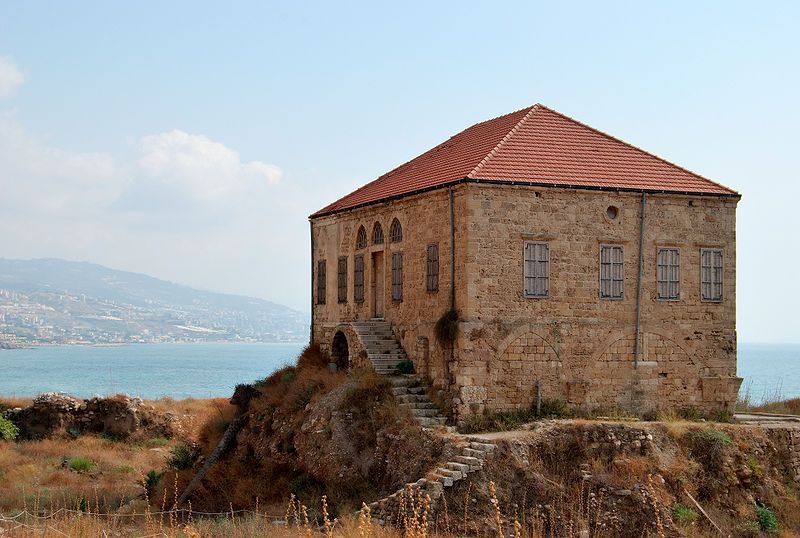 Arquivo: Casa tradicional libanesa em Byblos.jpg