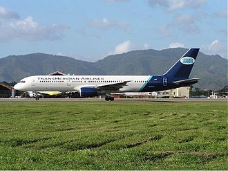 TransMeridian Airlines - TransMeridian Airlines Boeing 757-200, Port of Spain, 2003
