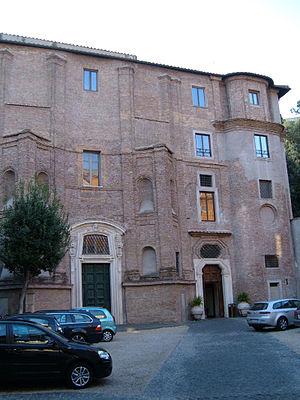 Santa Maria dei Sette Dolori, Rome - Church and monastery facade.