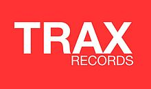 Trax Records logo designed by Jorge Cruz