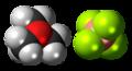 Trimethyloxonium tetrafluoroborate 3D spacefill.png