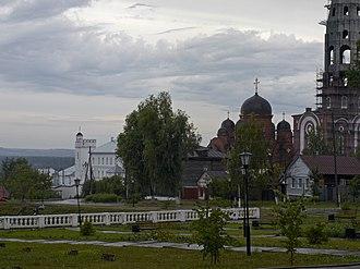 Alatyr, Chuvash Republic - Image: Trinity Monastery Alatyr