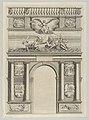 Triumphal arch, from 'Éloges et discours sur la triomphante réception du Roy en sa ville de Paris ...' by Jean-Baptiste de Machault MET DP855535.jpg
